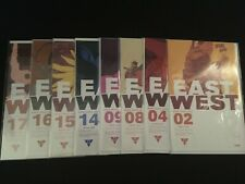 EAST OF WEST #2, 4, 8, 9, 14-18, 20, 21, THE WORLD, First Printings, VFNM