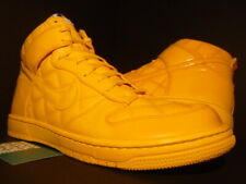2008 NIKE SB DUNK HIGH SUPREME OLYMPIC QUILTED PATENT MAIZE YELLOW 321762-771 13