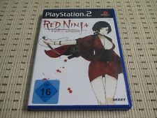 Red Ninja End of Honour für Playstation 2 PS2 PS 2 *OVP*