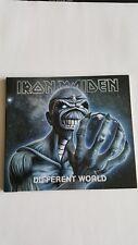 IRON MAIDEN DIFFERNT WORLD UK CD PROMO & DVD BRAND NEW