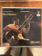 "(BEATLE RELATED) RAVI SHANKAR ""TWO RAGA MOODS""  LP CAPITOL RECORDS ST10482"