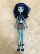 "Monster High 11"" Doll CAM CREATE A MONSTER DESIGN LAB GIRL Blue RARE!!"