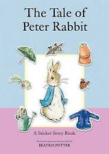 The Tale of Peter Rabbit: A Sticker Story Book by Beatrix Potter (Spiral bound,