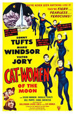 1953 CAT WOMEN OF THE MOON VINTAGE SCI-FI MOVIE POSTER PRINT STYLE A 54x36 BIG