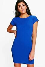Vestiti da donna blu con girocollo taglia 42