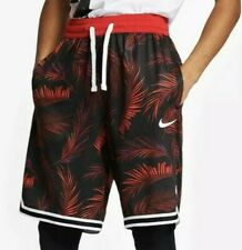 Nike Mens Dri-FIT DNA Floral Basketball Shorts Red sz Large L AR1321-657 NEW NWT