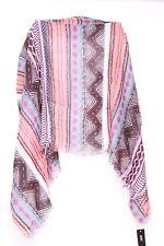 Graphic geometric print/Blue,red & white multi colour ladies neck scarf(S26)