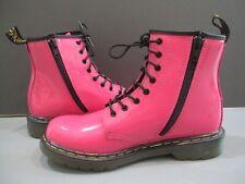 NWOB Dr. Martens Doc Martens Pink Lace Up Ankle Boots Side Zipper 5 SALE!!