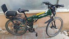 """Bici elettrica 26"""" pieghevole Bicicletta pedalata assistita Folding-Bike 48V500W"""