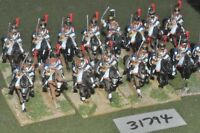 25mm napoleonic / french - cuirassiers 16 figures - cav (31794)