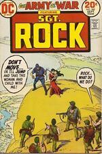 OUR ARMY AT WAR #260 VG, Joe Kubert c., Heath art, water damage, DC Comics 1973