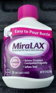 MiraLAX Laxative Powder 30 Once-Daily Dose 17.9 oz (510 g)