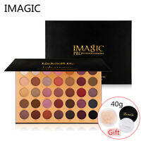 35 Colors Eye Shadow Palette Matte Glitter Makeup Shimmer Eyeshadow Cosmetic ZE