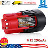 New 2.5AH OEM Battery For Milwaukee 48-11-2401 12Volt 12V M12 Lithium-Ion Tools
