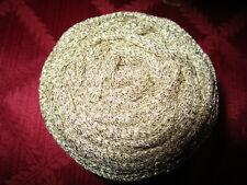 1 Skein Lucci Metallic Yarn, Gold