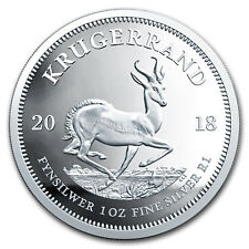 2018 South Africa 1 oz Silver Krugerrand Proof - SKU#163740