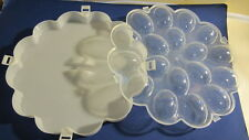 Deviled Egg Tray with Snap On Lid. Holds Up to 18 Deviled Eggs. New.