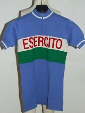 Trikot Fahrrad Trikot Maillot Radsport Eroica Vintage 70'S Armee 50% Wolle