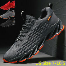 Men's Athletic Fashion Sneakers Tennis Walking Sports Running Strainer Gym Shoes