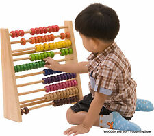 NEW wooden educational ABACUS 100 BEADS MATHS MATHEMATICAL LEARNING TEACHING TOY