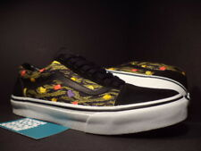 Vans OLD SKOOL X-LARGE BLACK CAMO OLIVE GREEN WHITE CHERRY RED YELLOW V36CL 9.5