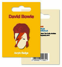 My World Acrylic Badge - Bowie Stationery MYBDG005
