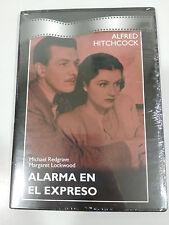 ALARMA EN EL EXPRESO DVD SLIM ALFRED HITCHCOCK REDGRAVE ESPAÑOL NEW NUEVO