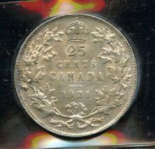 1921 Canada Twenty-Five Cents - ICCS VF-30 Cert#UB756