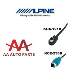 Alpine ALP-KCE-236B Aux In for Samsung HTC Huawei with Micro Usb Charger