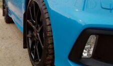 Mk3 Ford Focus RS-Negro KAYLAN Poliuretano mudflaps-Juego Completo-mobiliario Hazlo tú mismo