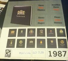 Davo Albums Stamp Album Pages For Portugal 1987