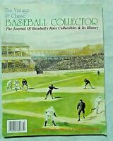 The Vintage & Classic Baseball Collector Magazine (VCBC) #17   October 1998