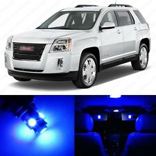 13 x Blue LED Interior Light Package For 2010 - 2017 GMC Terrain + PRY TOOL