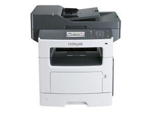 Lexmark MX510de Multifunction LASER PRINTER COPY FAX SCAN 35S5702 w/Toner 45PPM