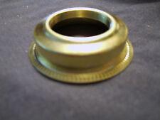 Victorian Solid Brass No 2 Burner Size Press On Collar for Oil Lamp Burner