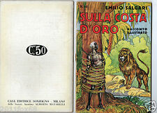emilio salgari racconti illustrati s. talman avventure #82 rare 1°edition 1936