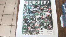 MIAMI DOLPHINS Nov 9 1997 VS. New York Jets GAME DAY MAGZINE Chrebet on cover