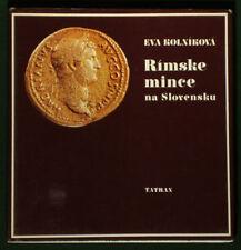 ON SALE! BOOK Ancient Roman Coins in Slovakia history gold dinar caesar European