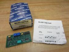 Micro Switch FE-LCA1 Honeywell Logic Card FELCA1