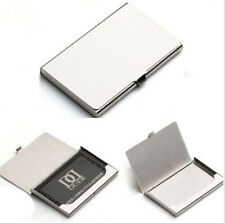 Pocket Metal Business ID Credit Card Case Box Holder Stainless Steel
