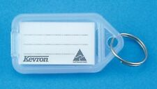 5 x CLEAR Kevron Key Ring Tag ID5  56 x 30mm  free delivery