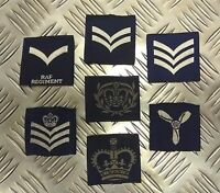 Genuine British Royal Air Force  RAF ATC Rank Slides 1 Pair  NCO/WO - Assorted