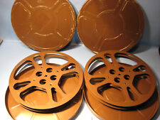 Antike große 16mm Filmspulen USA von Goldberg Bros.Denver D.14 Antique film reel