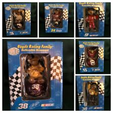 Assorted Boyds Collection - Resin Nascar Ornaments - You Choose!