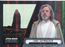Star Wars Evolution 2016 Base Card #33 Luke Skywalker - Jedi in Exile