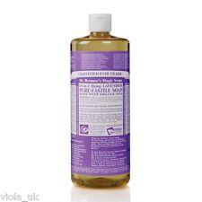 Dr Bronner`s Organic Lavender Castile Liquid Soap Natural Vegan Organic 946ml