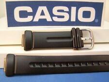 Casio Watch Band BGR-300 Baby G Black Resin Strap. Watchband