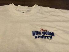 Vintage 1998 Disney Wide World Of Sports XL White T Shirt