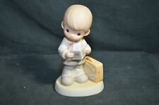 Precious Moments Signed - Will Last Forever Gene Freedman - Little Boy Figurine