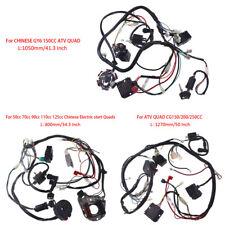 Wire Harness Assembly Wiring Kit Fits GY6 150cc /50-125cc Quad/CG150cc Dirt Bike